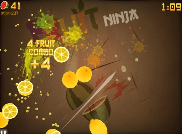 水果忍者高清版截图1