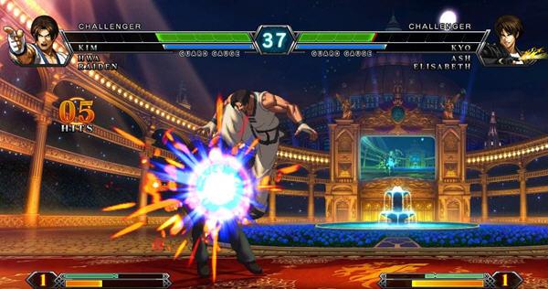 拳皇13可选BOSS中文硬盘版截图0