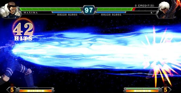拳皇13可选BOSS中文硬盘版截图1