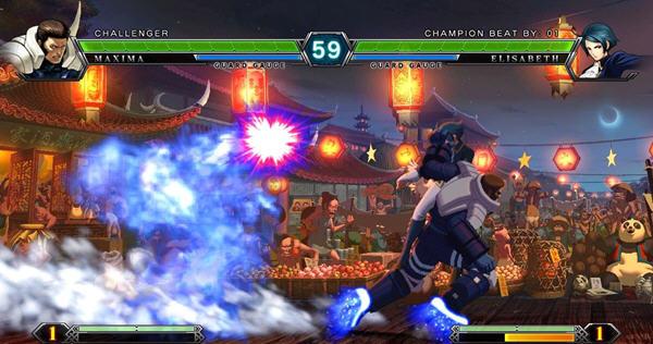 拳皇13可选BOSS中文硬盘版截图3