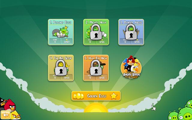 愤怒的小鸟(angry birds)V1.5.1U1绿色便携版截图3