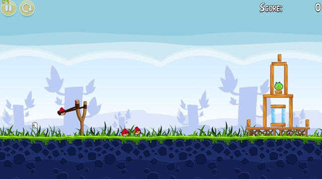 愤怒的小鸟(angry birds)V1.5.1U1绿色便携版截图1