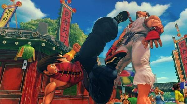 超级街霸4:街机版简体中文免安装版截图1