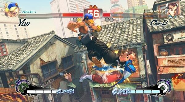 超级街霸4:街机版简体中文免安装版截图2