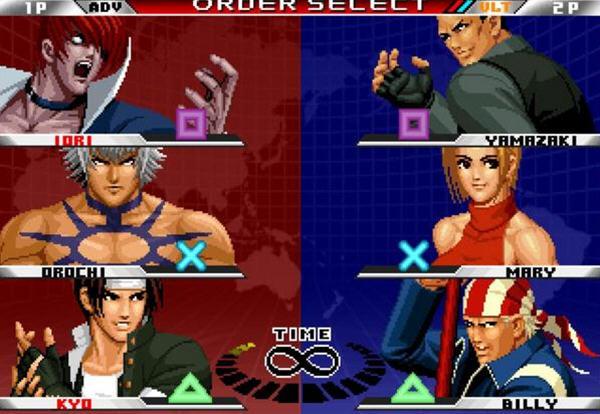 拳皇98 终极对决完美PC版截图3