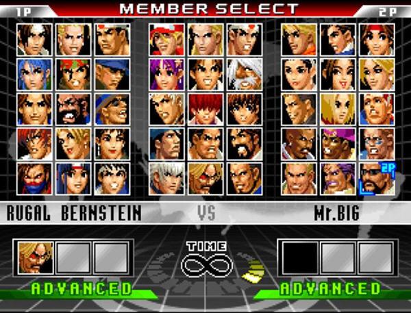 拳皇98 终极对决完美PC版截图1