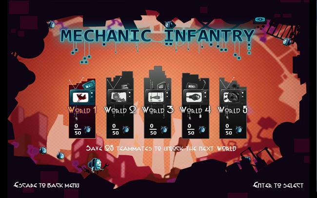 机械步兵(Mechanic Infantry)绿色硬盘版截图0