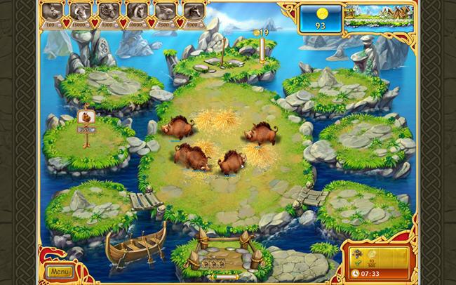 疯狂农场:海盗英雄(FarmFrenzyVikings)完美硬盘版截图2