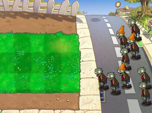 植物大战僵尸2010年度版(Plants Vs. Zombies Game Of The Year Edition) 中文汉化硬盘版截图4