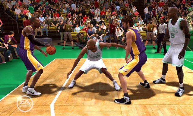 nba live 2008 劲爆美国职业篮球2008截图2