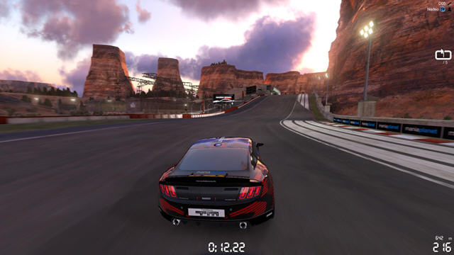 赛道狂飙2:峡谷截图2