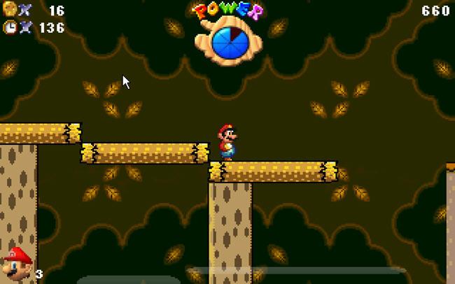 超级玛丽之蓝色黄昏(Super Mario Blue Twilight DX)完美硬盘版截图0