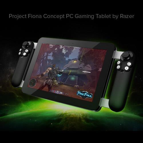 Razer新款游戏平板多图欣赏