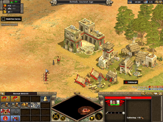 帝国时代3:民族的崛起截图1