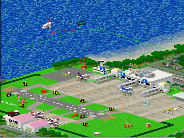 梦幻飞机场(航空管制模拟游戏)截图3