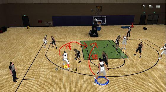 NBA2KOL对抗PF一些实用小技巧分享