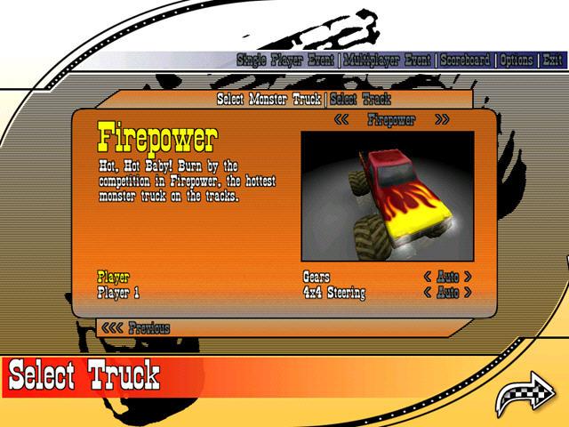 大脚车争霸(狂野的沙漠卡车竞技)截图3