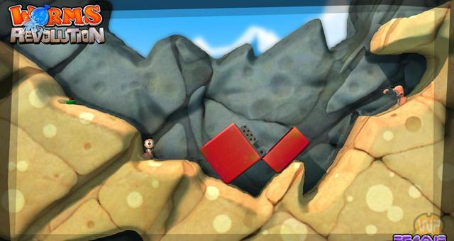 百战天虫:革命(Worms Revolution)中文PC正式版截图2