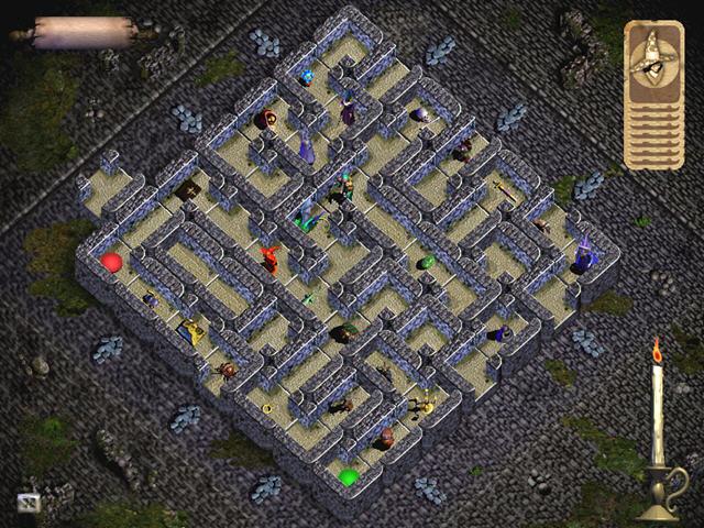 奇途迷城(迷宫一样的回合制卡牌游戏)截图1