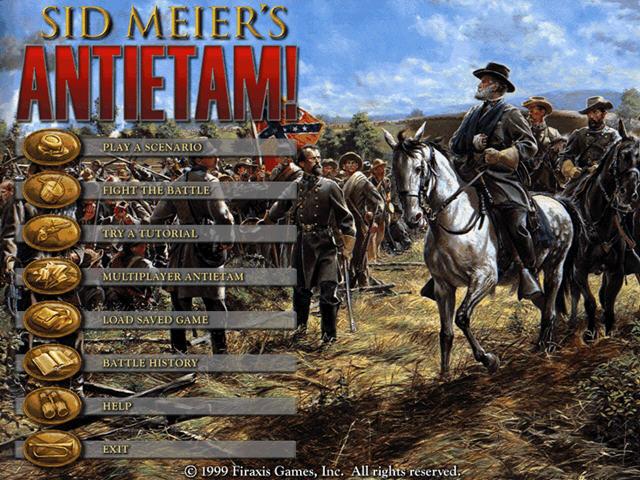 席德梅尔内战(Sid Meiers Antietam )绿色硬盘版截图0