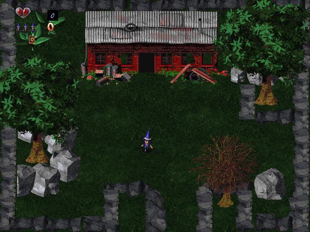 魔法师之巢(小品级冒险游戏)截图0