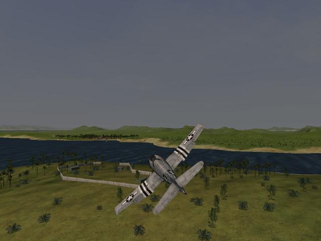飞行战机:决战太平洋(操作简单的3D飞行射击游戏)截图0
