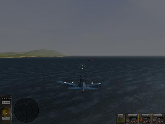 飞行战机:决战太平洋(操作简单的3D飞行射击游戏)截图1