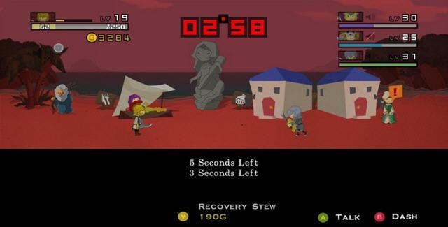 勇者30(30秒内结束战斗的横版游戏)截图1