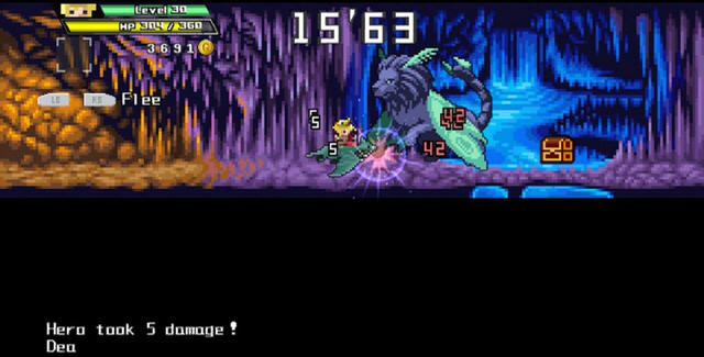 勇者30(30秒内结束战斗的横版游戏)截图3