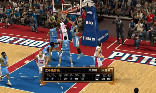 《NBA2K13》扣篮心得、技巧