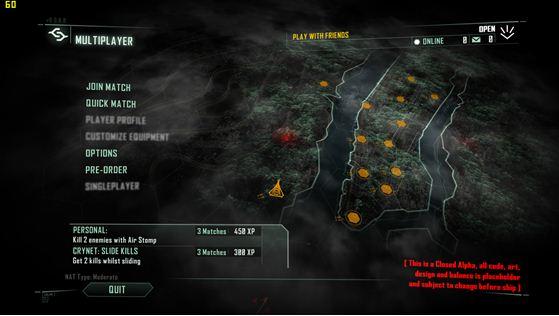《孤岛危机3》最新测试截图