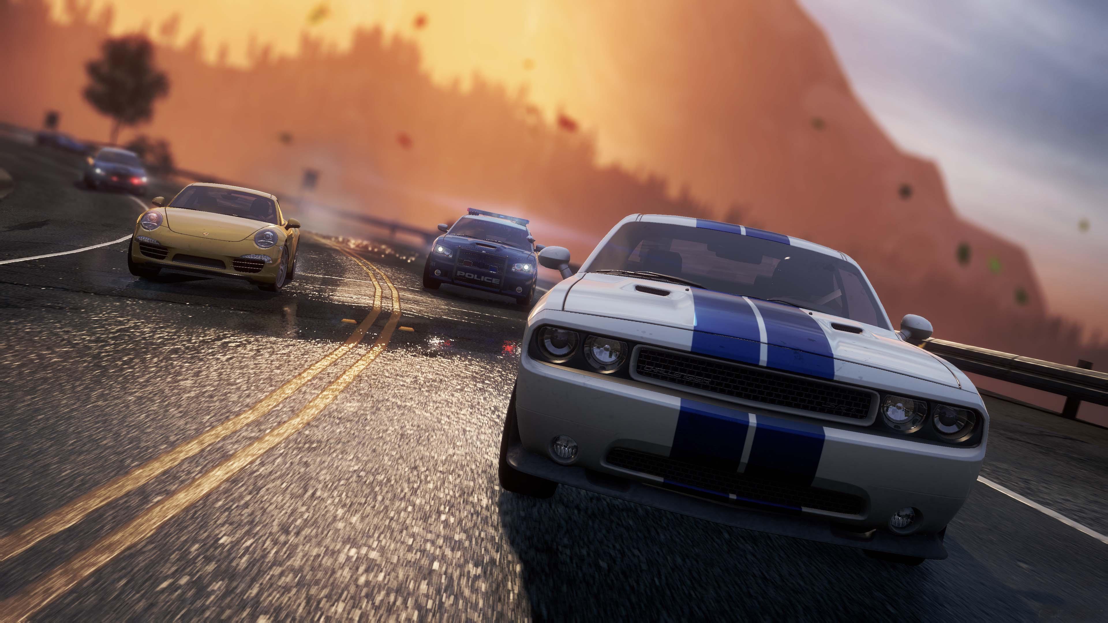 《极品飞车17》高清游戏截图