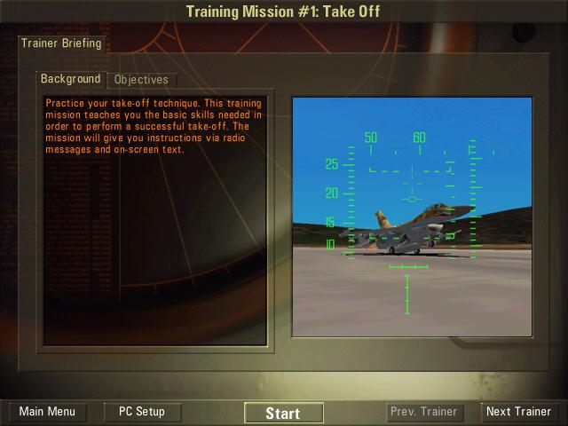 攻击者F16(可驾驶F16的飞行模拟游戏)截图0