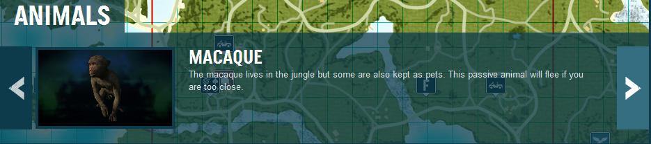《孤岛惊魂3》动物图鉴