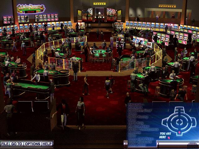 霍伊尔赌场游戏2004(高拟真度赌博模拟游戏)截图0