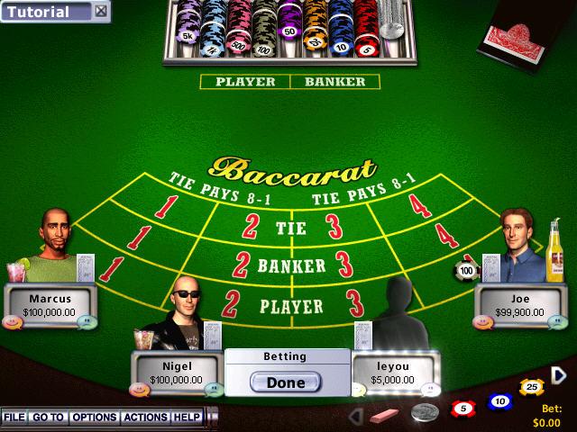 霍伊尔赌场游戏2004(高拟真度赌博模拟游戏)截图1