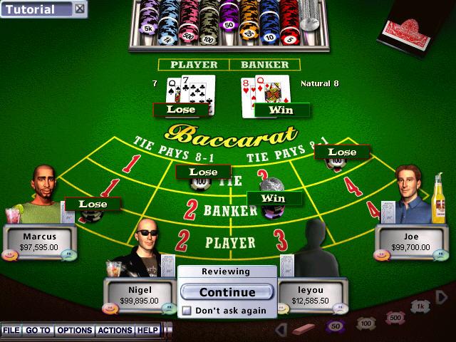 霍伊尔赌场游戏2004(高拟真度赌博模拟游戏)截图2