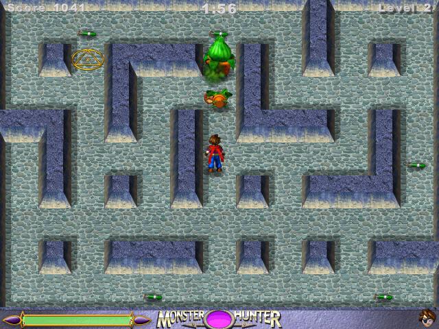 恶魔猎人(猎杀怪物的冒险游戏)截图1