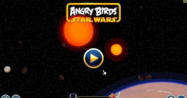 愤怒的小鸟星球大战截图2