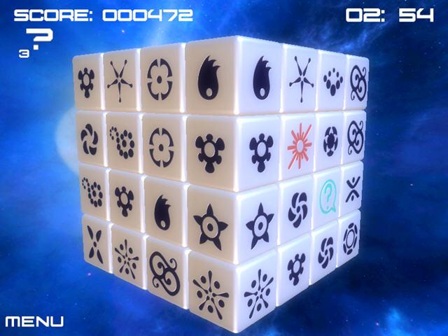 金色方块(充满创意的3D立体消除游戏)截图1