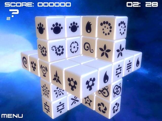 金色方块(充满创意的3D立体消除游戏)截图2