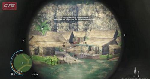 《孤岛惊魂3》用狙击枪猎杀鹿任务注意事项