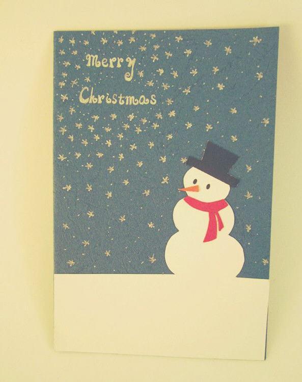 给喜欢的人写贺卡 一段简单的圣诞祝福语 里面包含陈晓雯我喜欢你