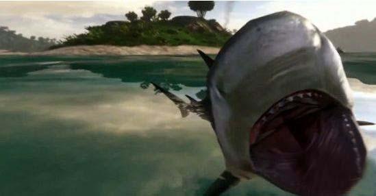 《孤岛惊魂3》猎杀鲨鱼几点经验分享