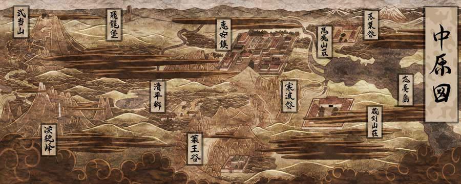 剑侠情缘外传月影传说地图