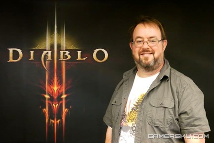 "Jay Wilson 是游戏暗黑破坏神3的设计师,并想知道""嘿,呃,你脸上的是什么?"