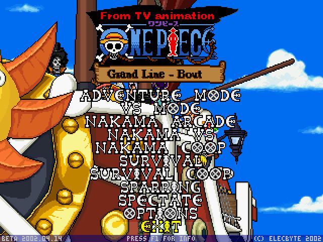 海贼王格斗完整硬盘版截图2