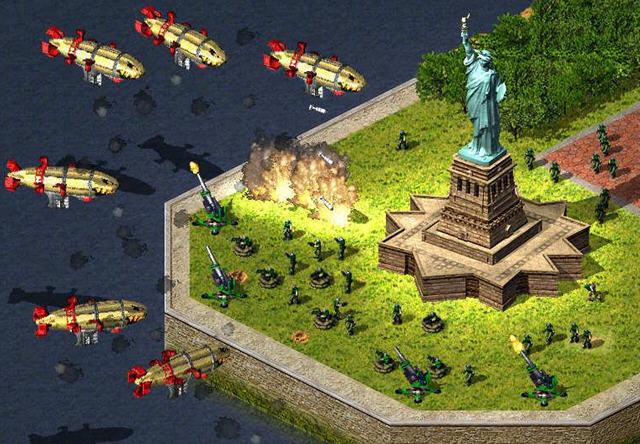 红警2尤里的复仇任务之炮弹山峰
