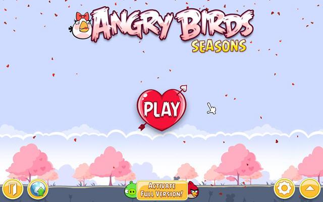 愤怒的小鸟:四季樱花版中文硬盘版截图3