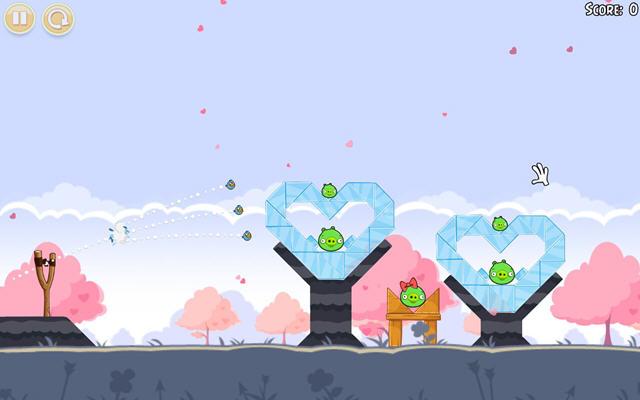 愤怒的小鸟:四季樱花版中文硬盘版截图0